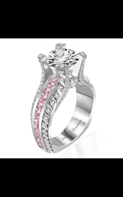 Claude Thibaudeau La Royale Engagement ring MODPLT-10051-MPR product image