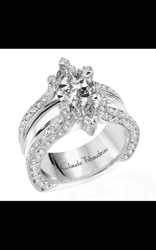 Claude Thibaudeau La Royale Engagement ring MODPLT-1551 product image