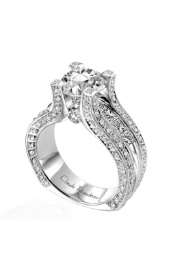 Claude Thibaudeau La Royale Engagement Ring MODPLT-1639 product image