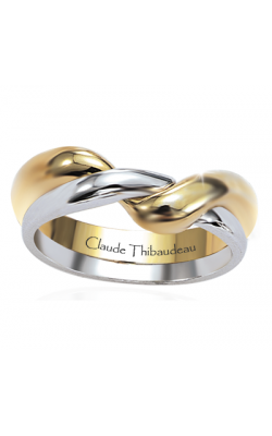 Claude Thibaudeau The Inseparables Wedding Band IF-104-H product image