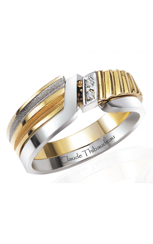 Claude Thibaudeau The Inseparables Wedding band IF-117-H product image
