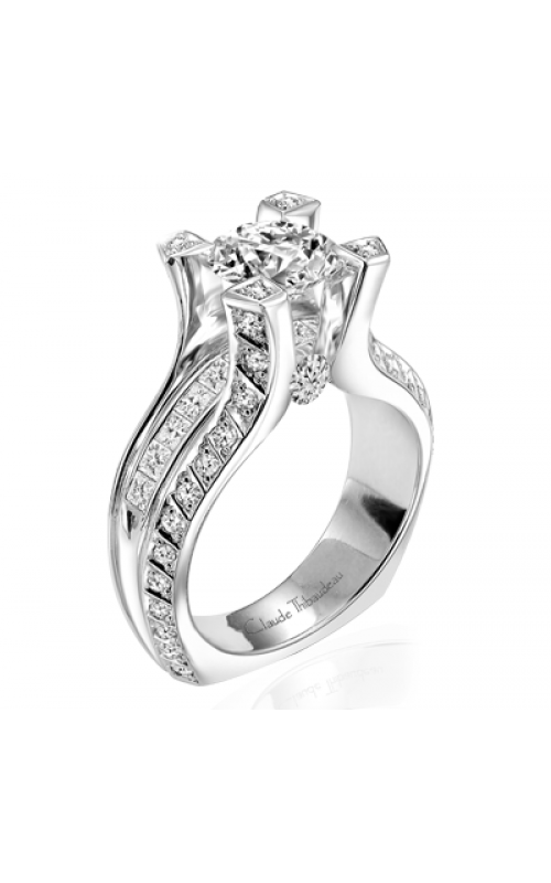 Claude Thibaudeau La Royale Engagement ring MODPLT-1751 product image