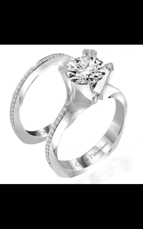 Claude Thibaudeau La Royale Engagement ring PLT-10038-MP product image