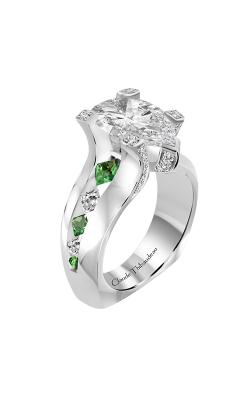 Claude Thibaudeau La Royale Engagement ring PLT-10204-MPT product image