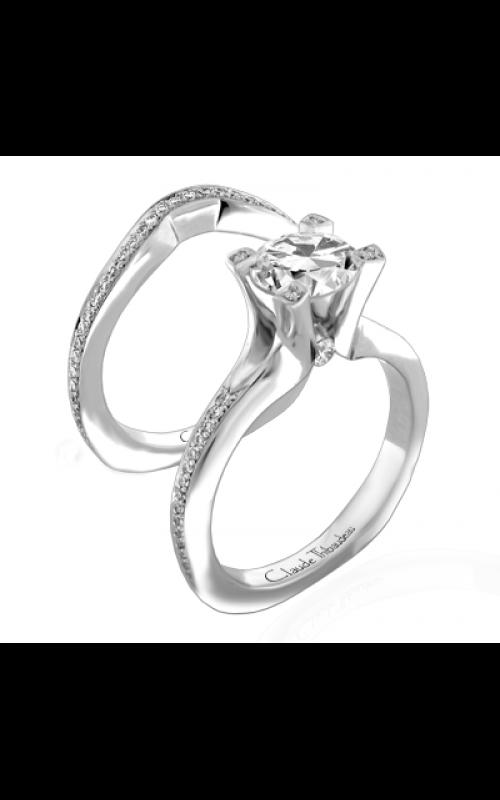 Claude Thibaudeau La Royale Engagement ring PLT-1842-MP product image