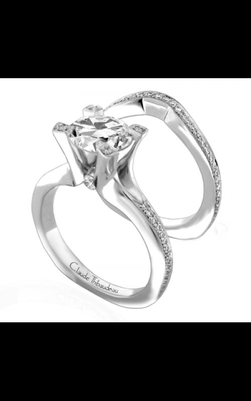 Claude Thibaudeau La Royale Engagement ring PLT-1843-MP product image
