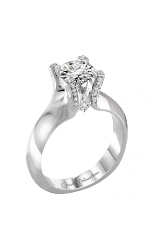 Claude Thibaudeau La Royale Engagement ring PLT-1929-MP product image