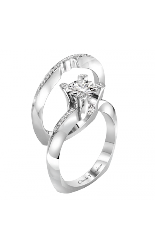 Claude Thibaudeau La Royale Engagement ring PLT-1963-MP product image