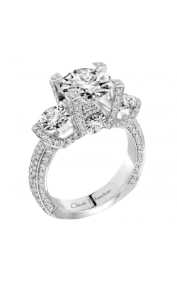 Claude Thibaudeau La Trinite Engagement Ring MODPLT-1916-MP product image