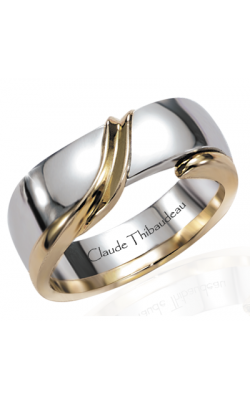 Claude Thibaudeau The Inseparables Wedding Band IF-21-H product image