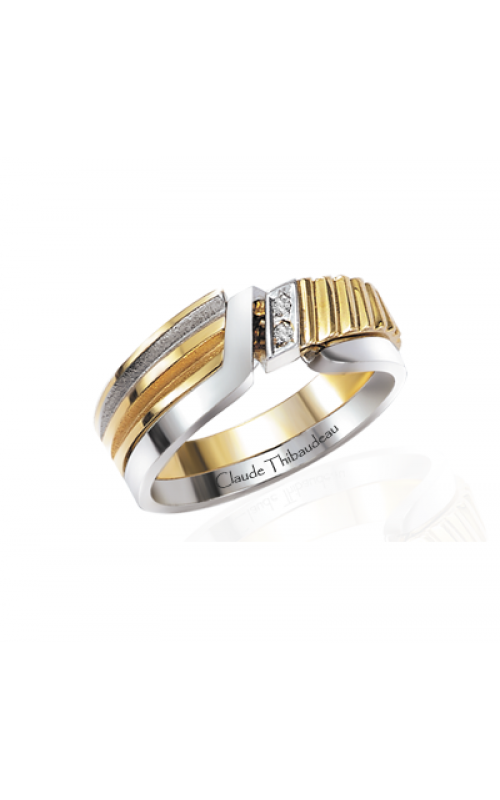 Claude Thibaudeau The Inseparables Wedding band IF-117-F product image