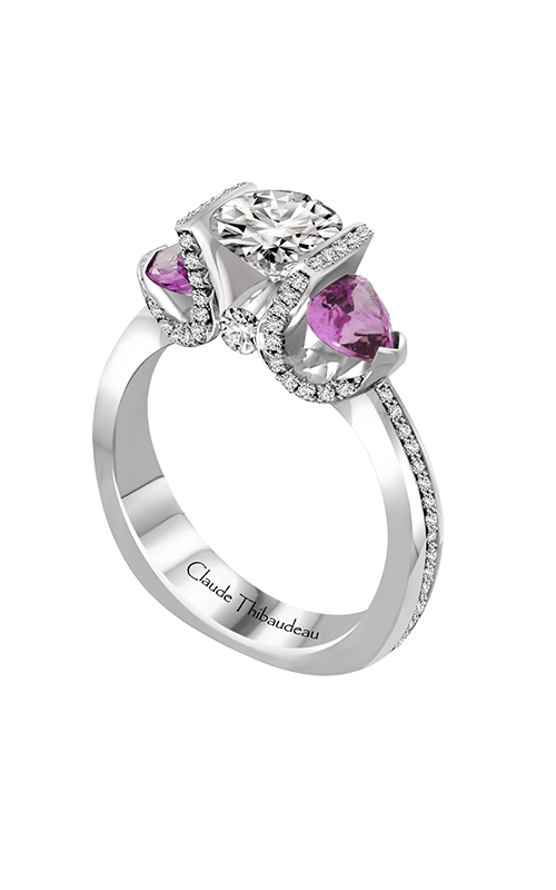 Claude Thibaudeau La Trinite Engagement ring PLT-10012-MPR product image