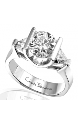 Claude Thibaudeau La Trinite Engagement Ring PLT-1283 product image