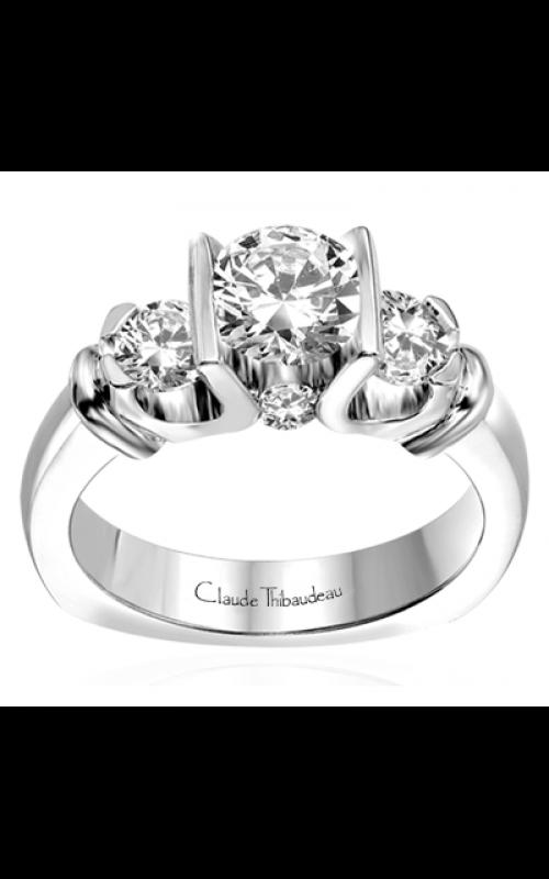 Claude Thibaudeau La Trinite Engagement ring PLT-1546 product image
