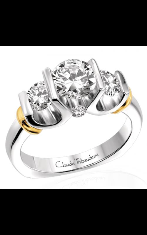 Claude Thibaudeau La Trinite Engagement ring PLT-1547 product image