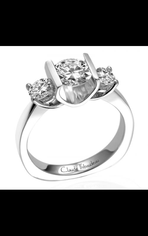 Claude Thibaudeau La Trinite Engagement ring PLT-1553 product image