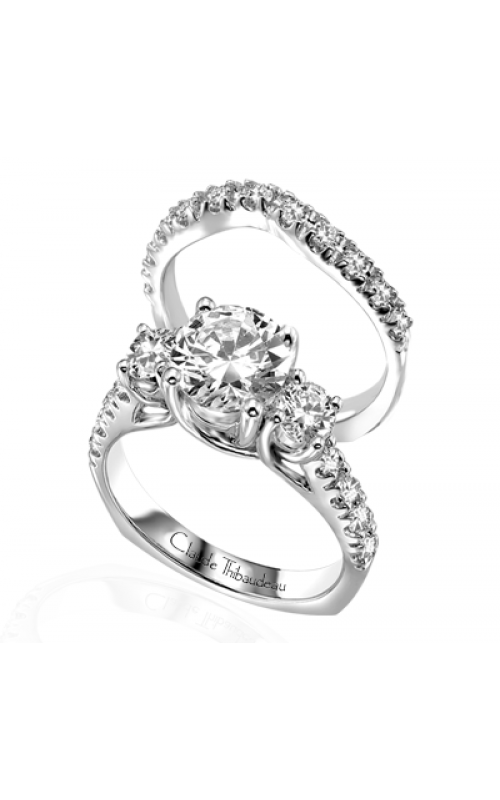 Claude Thibaudeau La Trinite Engagement ring PLT-1581 product image