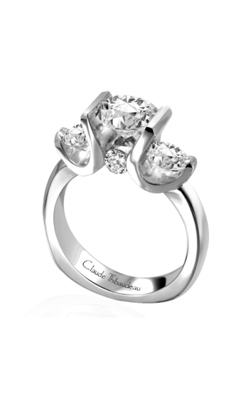 Claude Thibaudeau La Trinite Engagement ring PLT-1644 product image