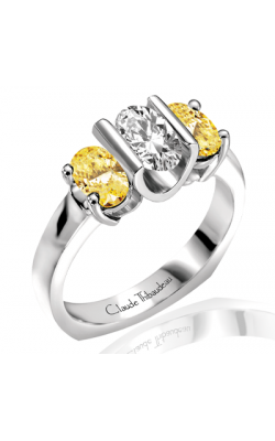 Claude Thibaudeau La Trinite Engagement Ring PLT-1654 product image