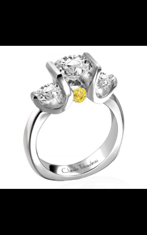 Claude Thibaudeau La Trinite Engagement ring PLT-1728 product image