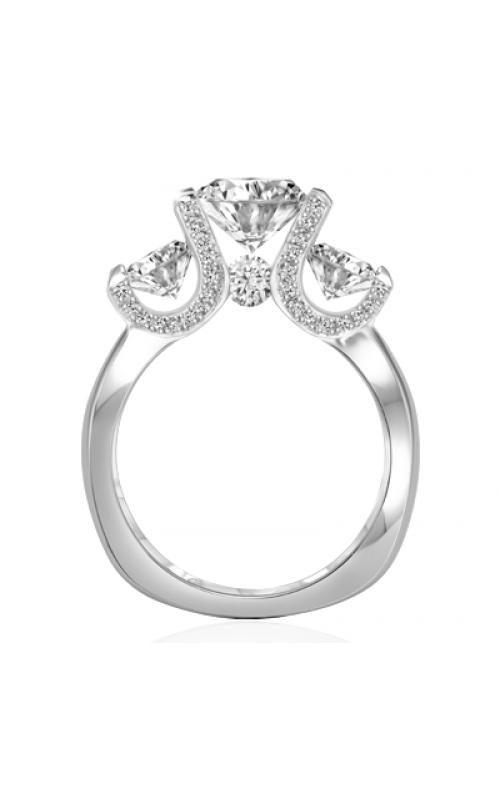 Claude Thibaudeau La Trinite Engagement ring PLT-1836-JMP product image