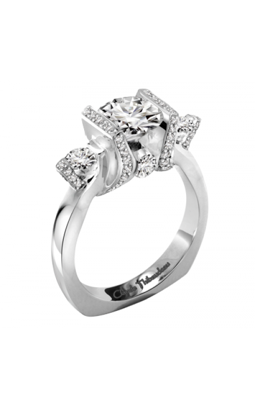 Claude Thibaudeau La Trinite Engagement ring PLT-1899-MP product image