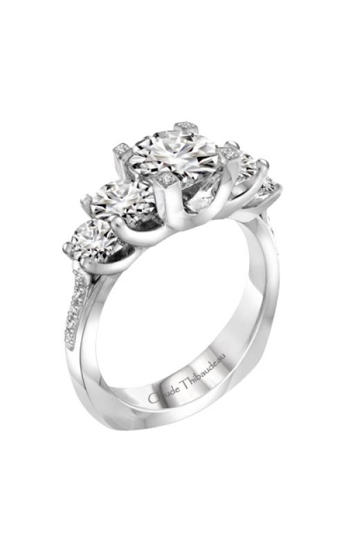 Claude Thibaudeau La Trinite Engagement ring PLT-1925-MP product image