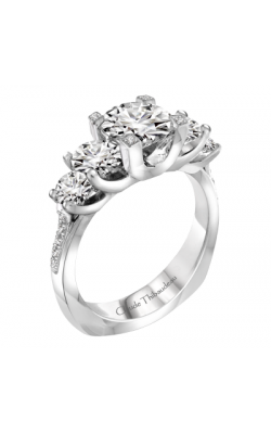 Claude Thibaudeau La Trinite Engagement Ring PLT-1925-MP product image