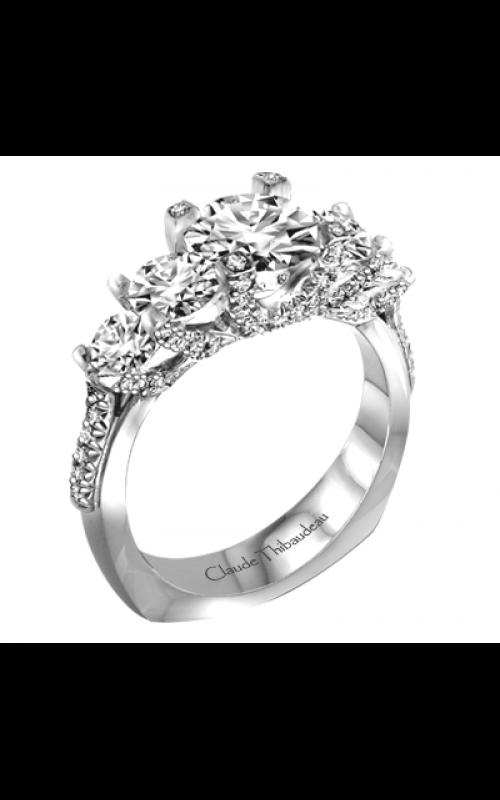 Claude Thibaudeau La Trinite Engagement ring PLT-1987-MP product image