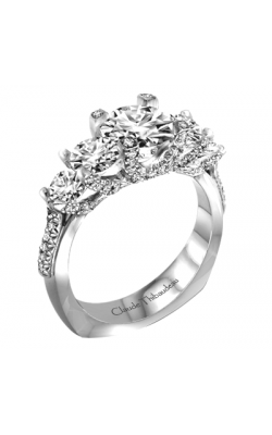 Claude Thibaudeau La Trinite Engagement Ring PLT-1987-MP product image