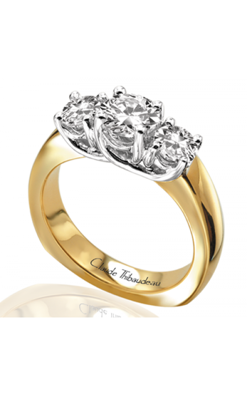 Claude Thibaudeau La Trinite Engagement ring PLT-2611 product image