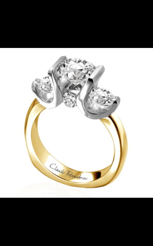 Claude Thibaudeau La Trinite Engagement ring PLT-2645 product image