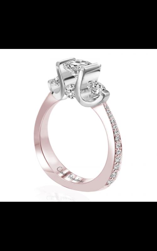 Claude Thibaudeau La Trinite Engagement ring PLT-7644RW-MP product image