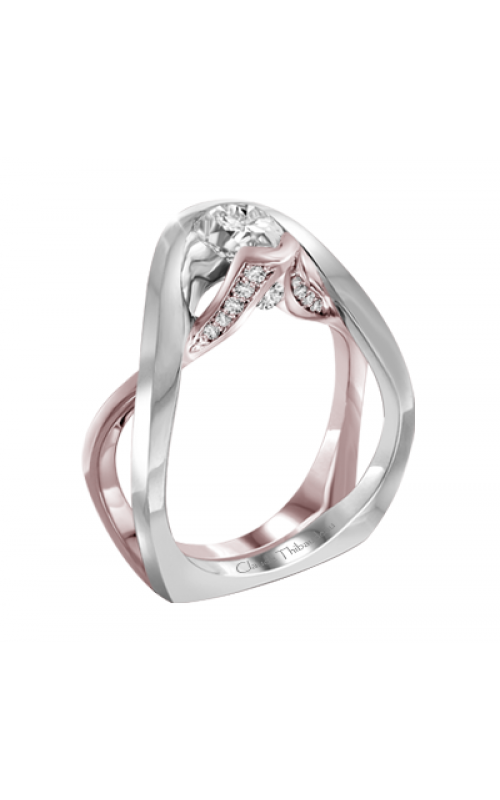 Claude Thibaudeau Petite Designs Engagement ring PLT-10001R-MP product image