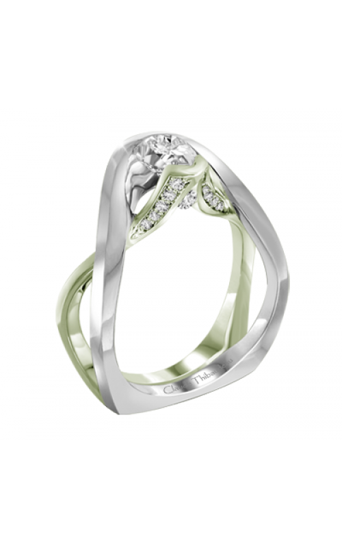 Claude Thibaudeau Petite Designs Engagement ring PLT-10001V-MP product image