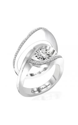 Claude Thibaudeau Petite Designs Engagement Ring PLT-10007-MP product image