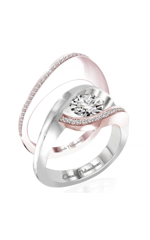 Claude Thibaudeau Petite Designs Engagement ring PLT-10007R-MP product image