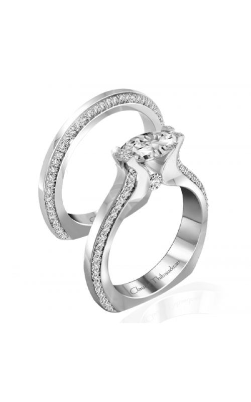 Claude Thibaudeau Petite Designs Engagement ring PLT-10013-MP product image
