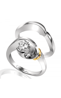 Claude Thibaudeau Petite Designs Engagement Ring PLT-1218 product image