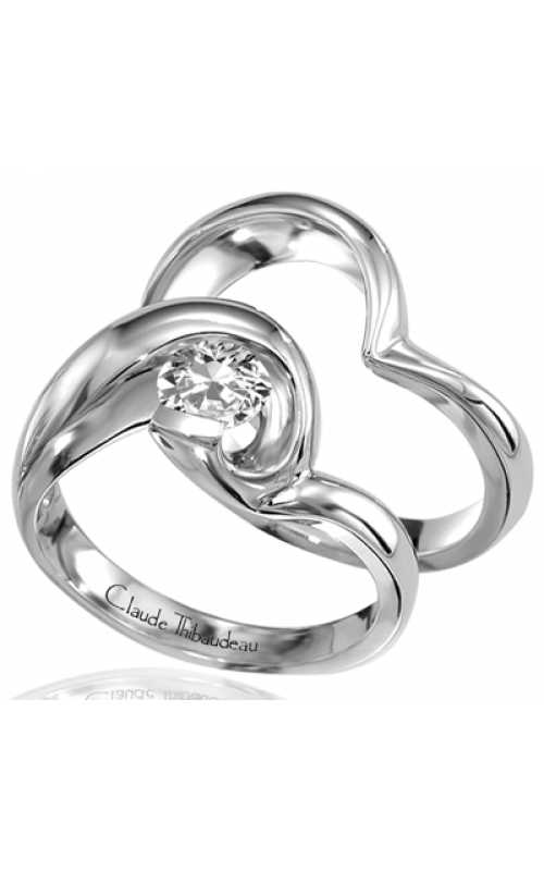 Claude Thibaudeau Petite Designs Engagement ring PLT-1220 product image