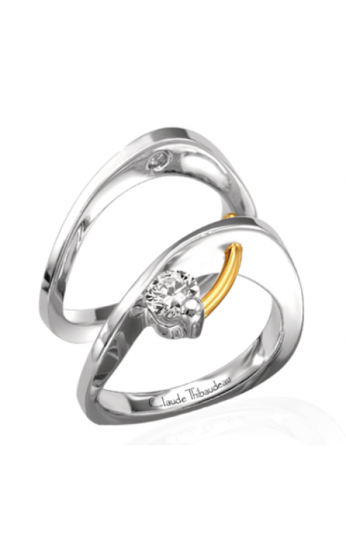 Claude Thibaudeau Petite Designs Engagement ring PLT-1236 product image