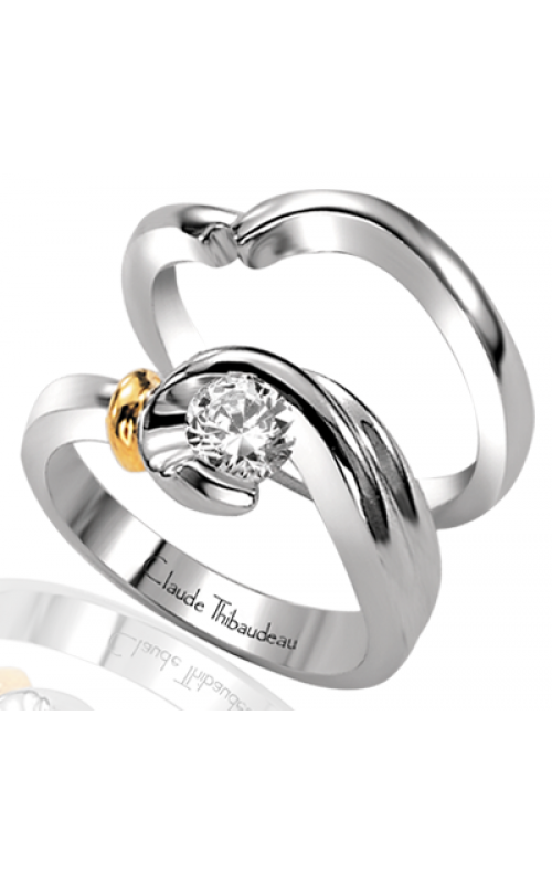 Claude Thibaudeau Petite Designs Engagement ring PLT-1238 product image