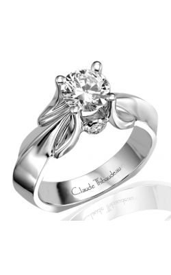 Claude Thibaudeau Petite Designs Engagement Ring PLT-1475 product image