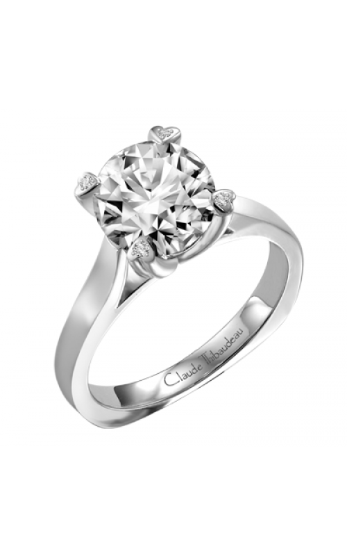 Claude Thibaudeau Petite Designs Engagement ring PLT-1583-MP product image