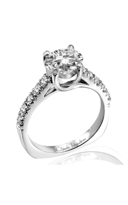 Claude Thibaudeau Petite Designs Engagement ring PLT-1729 product image