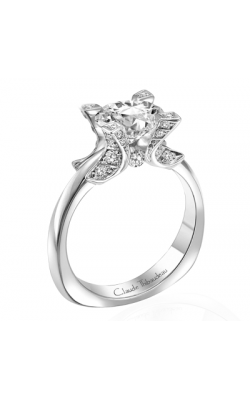 Claude Thibaudeau Petite Designs Engagement Ring PLT-1804 product image