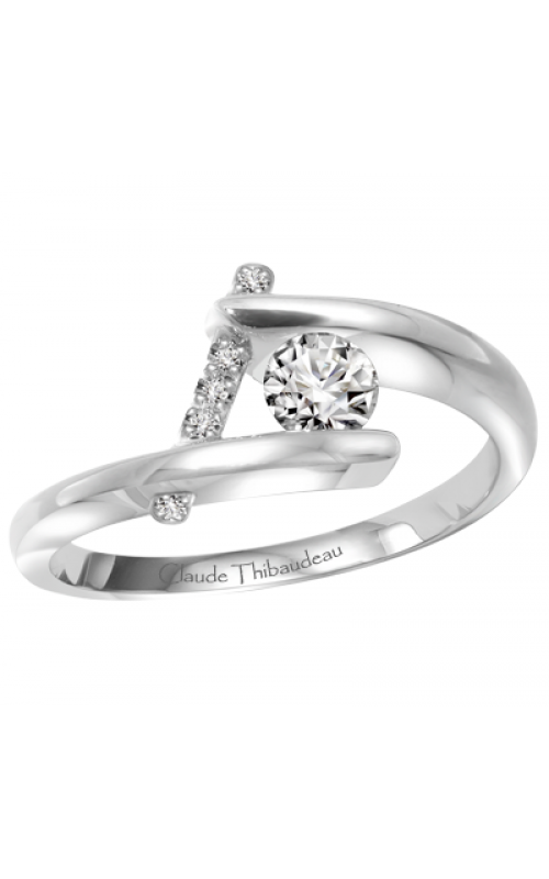 Claude Thibaudeau Petite Designs Engagement ring PLT-1887-MP product image
