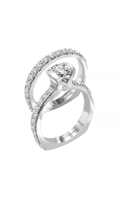 Claude Thibaudeau Petite Designs Engagement Ring PLT-1888-MP product image