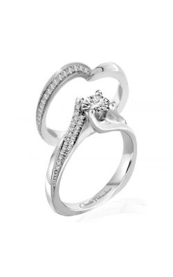 Claude Thibaudeau Petite Designs Engagement Ring PLT-1955-MP product image
