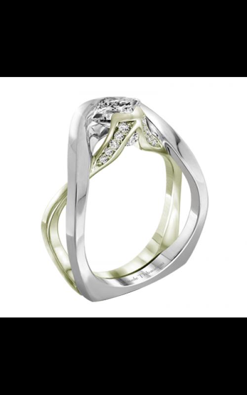 Claude Thibaudeau Petite Designs Engagement ring PLT-1989V-MP product image